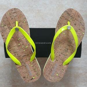 Nine West flip flop sandals